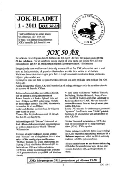 JOK-bladet 2011-1