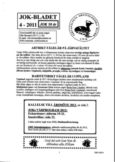JOK-bladet 2011-4