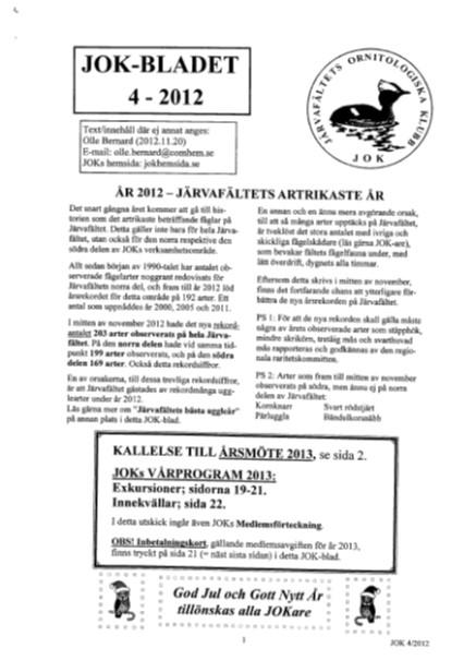 JOK-bladet 2012-4