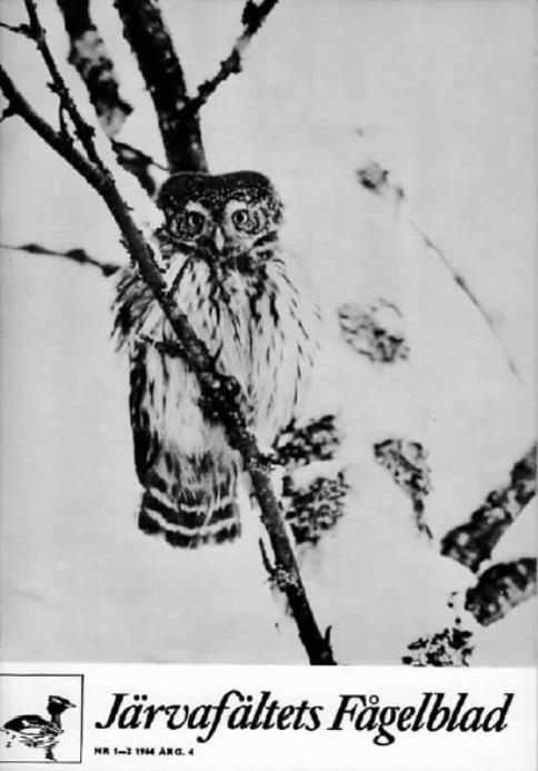 Järvafältets Fågelblad 1964