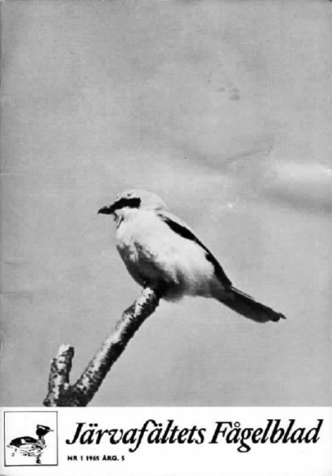 Järvafältets Fågelblad 1965
