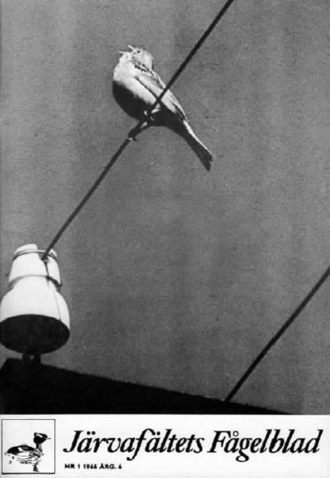 Järvafältets Fågelblad 1966-1
