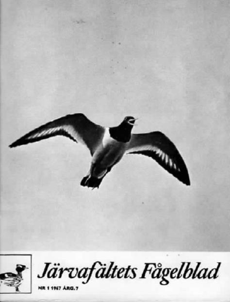 Järvafältets Fågelblad 1967-1