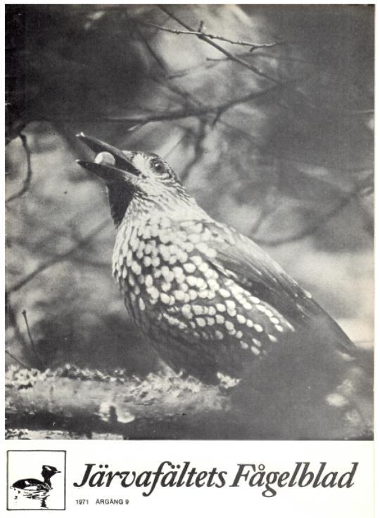 Järvafältets Fågelblad 1971