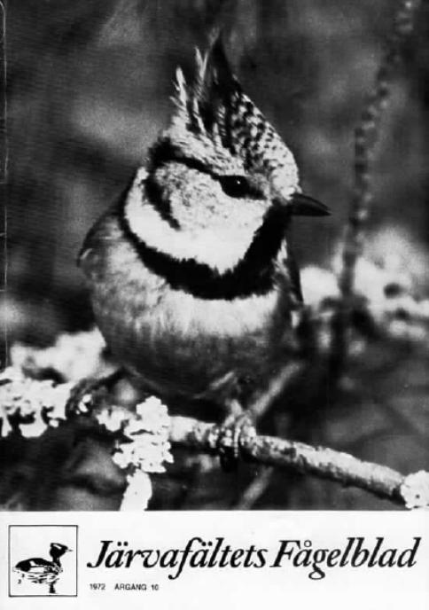 Järvafältets Fågelblad 1972