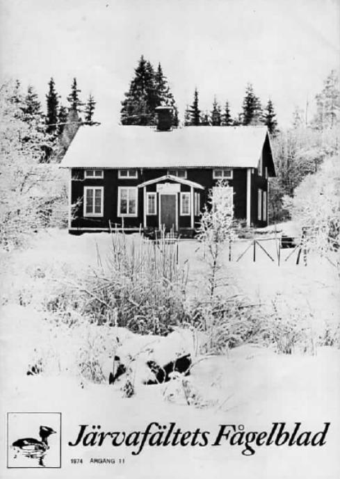 Järvafältets Fågelblad 1974
