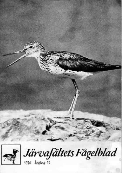 Järvafältets Fågelblad 1976