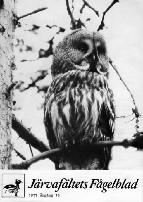 Järvafältets Fågelblad 1977