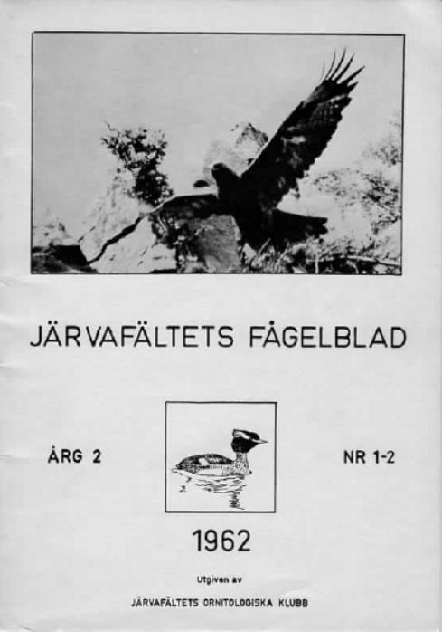 Järvafältets Fågelblad 1962-1-2